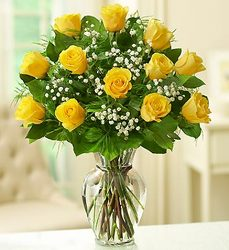 Bravo Yellow from Lewis Florist in Grayslake, IL