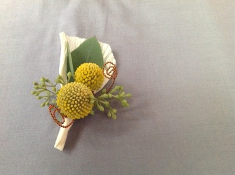 Woolyheads Boutonniere from Lewis Florist in Grayslake, IL