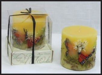 BUTTERFLY GARDEN LUMINARY from Lewis Florist in Grayslake, IL