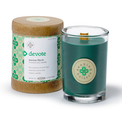 Seeking Balance Devote Holistic Candle from Lewis Florist in Grayslake, IL