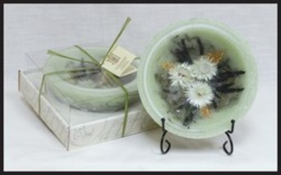 HABERSHAM SAGE REGULAR WAX POTTERY® VESSEL from Lewis Florist in Grayslake, IL