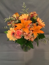 Orange Crush from Lewis Florist in Grayslake, IL