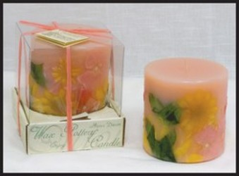 PINK GRAPEFRUIT & PATCHOULI LUMINARY from Lewis Florist in Grayslake, IL