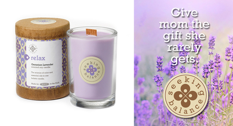 Seeking Balance RELAX  Holistic Candle from Lewis Florist in Grayslake, IL