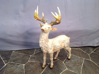 Standing Buck with Antlers from Lewis Florist in Grayslake, IL