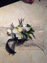 White Black Bling from Lewis Florist in Grayslake, IL