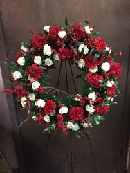 Winter Wreath from Lewis Florist in Grayslake, IL
