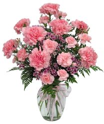 Pretty in Pinks from Lewis Florist in Grayslake, IL