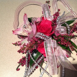 Raspberry pink Bling from Lewis Florist in Grayslake, IL