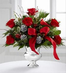 Holiday Roses from Lewis Florist in Grayslake, IL
