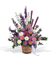 Lavender Reminder Basket from Lewis Florist in Grayslake, IL