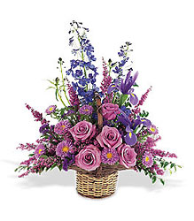 Gentle Comfort Basket from Lewis Florist in Grayslake, IL