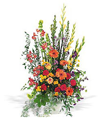 Summer Sentiments Arrangement from Lewis Florist in Grayslake, IL