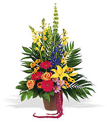 Celebration of Life Arrangement from Lewis Florist in Grayslake, IL