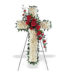 Hope and Honor Cross from Lewis Florist in Grayslake, IL