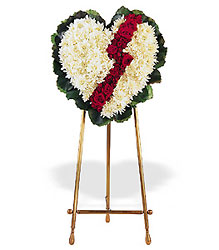 Broken Heart from Lewis Florist in Grayslake, IL