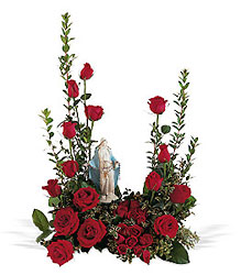 Teleflora's Our Lady of Grace from Lewis Florist in Grayslake, IL