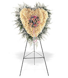 Heavenly Heart from Lewis Florist in Grayslake, IL