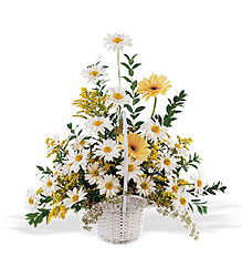Drop of Sunshine Basket from Lewis Florist in Grayslake, IL