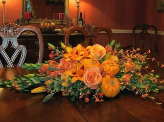 Thanksgiving Warmth from Lewis Florist in Grayslake, IL